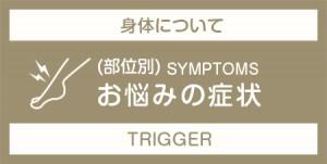 身体について お悩みの症状(部位別)トリガー